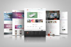 Web Presentation Mock Ups PSD Template