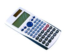 Algebra Calculator - stock photo