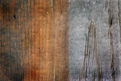 Old Weathered Wood With Grunge Look - stock photo