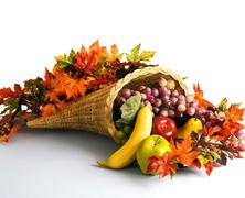 Cornucopia, The Horn Of Plenty Stock Photos