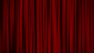 Stock Video Footage of Red Curtains