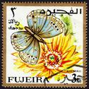 Stock Photo of postage stamp showing a butterfly