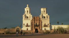 Mission San Xavier del Bac Stock Footage