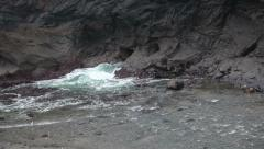 Sea, rocks, cliffs and waves 2 Stock Footage