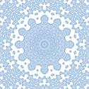 Stock Illustration of abstract blue pattern on white