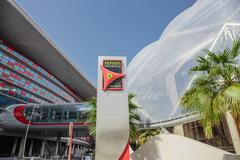 Viihdekeskus Ferrari World Abu Dhabissa Kuvituskuvat