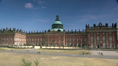 Sanssouci Is Summer Palace Of Frederick The Great, In Potsdam, Near Berlin. - stock footage