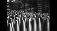 1939 - German Tank Factory Scharnhorst 06 Stock Footage