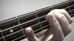 Bass Riff Stock Footage