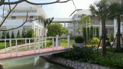 Palace. Cha-am, Hua Hin, Thailand Stock Footage
