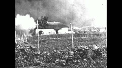 1941 - Wehrmacht In Russia 05 - Attack on Rostov 01 Stock Footage
