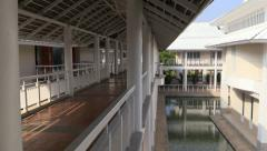 Palace. Cha-am, Hua Hin, Thailand Stock Footage