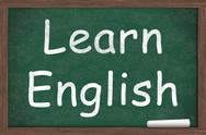 Stock Illustration of learning english