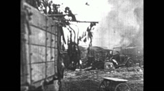 1941 - Wehrmacht in Russia 05 - Attack on Rostov 08 Stock Footage