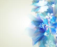 Abstract artistic Background Stock Illustration
