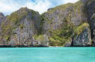 Stock Photo of the island of phi phi leh krabi, thailand
