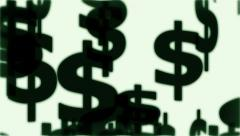 Money Symbols Stock Footage