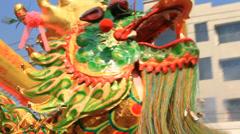 Golden dragon Stock Footage