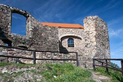 Czech Republic - Potstejn stronghold and castle - stock photo