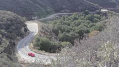 Corvette C7 Stingray Telephoto Corner 1 Stock Footage