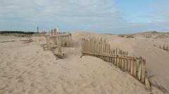 Los canos de meca beach spain 4k Stock Footage