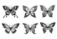 Stock Illustration of beautiful butterflies