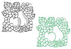 Autumnal harvest Stock Illustration