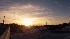 Sunset Timelapse - Santa Cruz do Sul Stock Footage