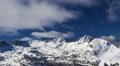 4K Winter mountain landscape. Time-lapse. Footage