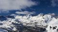 Winter mountain landscape. Time-lapse. HD Footage