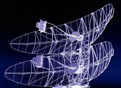 Communication radar. Stock Photos