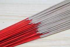 Joss sticks that use for holy thing worship. Stock Photos