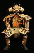 japanese samurai - stock photo