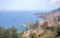 Panoraama Monte Carlo Monaco Kuvituskuvat