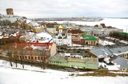 Stock Photo of panoramic march view nizhny novgorod russia