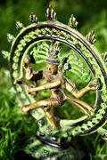 shiva - lord of dance - stock photo