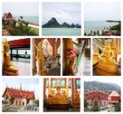 Stock Illustration of collage of beautiful thailand