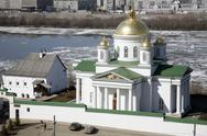 Stock Photo of nizhny novgorod - the annunciation (blagoveschensky) monastery (xiii).