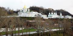 Stock Photo of november view of annunciation monastery nizhny novgorod russia