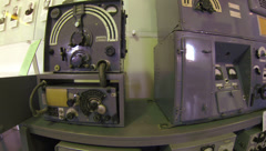 Military transmitter, portable radio 2.7K Stock Footage