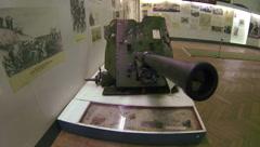 Military artillery gun 2.7K Stock Footage