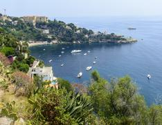 cap d'ail (cote d'azur) - stock photo