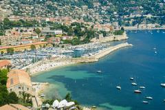 villefranche-sur-mer (cote d'azur) - stock photo