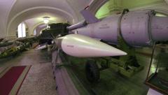 Ballistic missile 2.7K Stock Footage