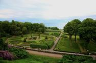 Stock Photo of formal gardens