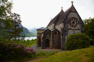 Stock Photo of church in glenfinnan