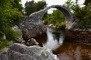Stock Photo of packhorse bridge