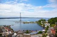 Stock Photo of forth road bridge