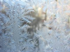 Snowflakes abstract winter texture background Stock Photos