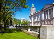 Stock Photo of belfast city hall